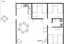 2008.6.6 Cabin 1 Floor Plan