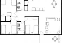 2008.6.6 Cabin 10 Floor Plan