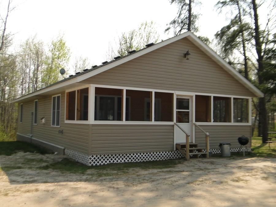 Cabin 11 at becker 39 s resort winnibigoshish mn fishing resort for Minnesota fishing cabins