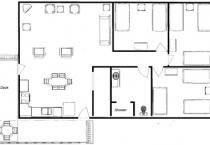 2008.6.6 Cabin 15 Floor Plan