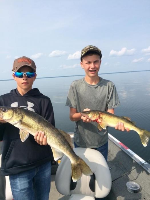 Becker 39 s resort campground on lake winnibigoshish mn for Lake winnie fishing report